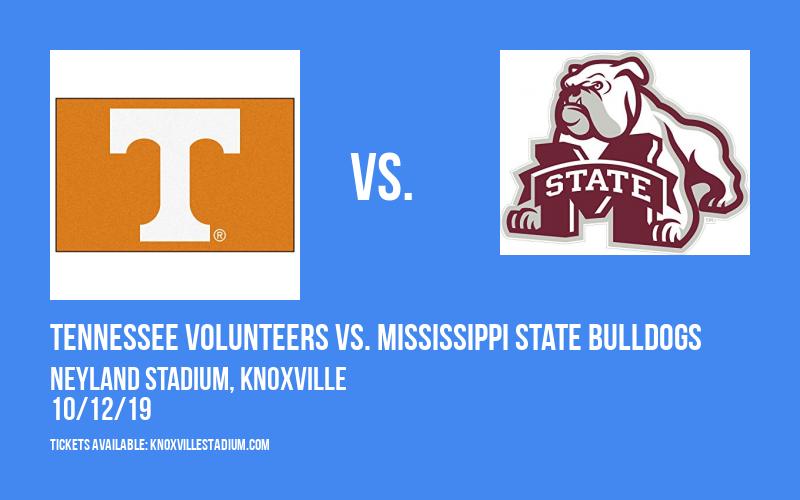 Tennessee Volunteers vs. Mississippi State Bulldogs at Neyland Stadium
