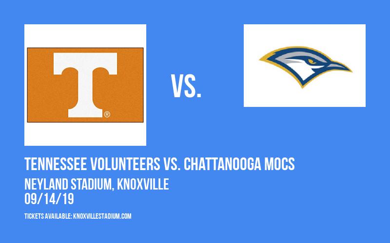 Tennessee Volunteers vs. Chattanooga Mocs at Neyland Stadium