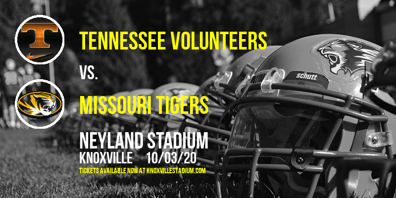 Tennessee Volunteers vs. Missouri Tigers at Neyland Stadium