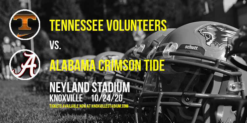 Tennessee Volunteers vs. Alabama Crimson Tide at Neyland Stadium