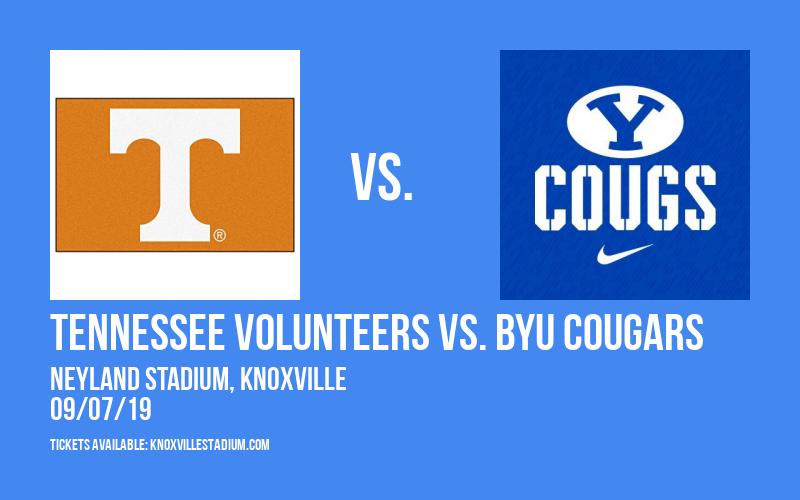 PARKING: Tennessee Volunteers vs. BYU Cougars at Neyland Stadium