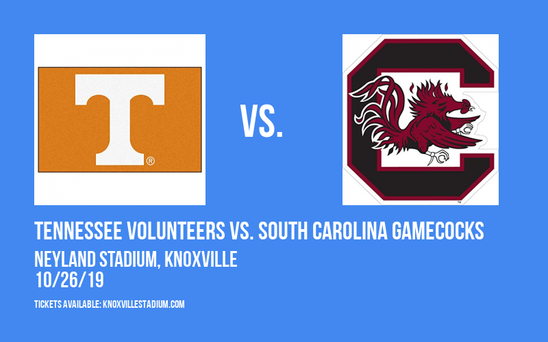 PARKING: Tennessee Volunteers vs. South Carolina Gamecocks at Neyland Stadium