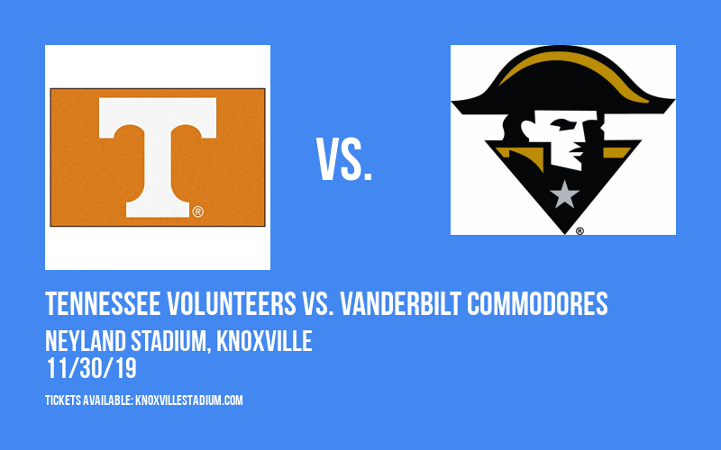 PARKING: Tennessee Volunteers vs. Vanderbilt Commodores at Neyland Stadium