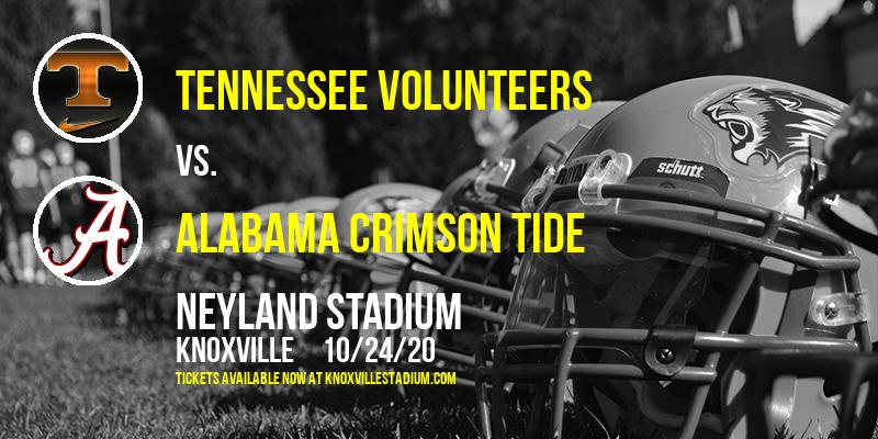 Tennessee Volunteers vs. Alabama Crimson Tide at Neyland Stadium